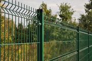 Секционный забор 3D